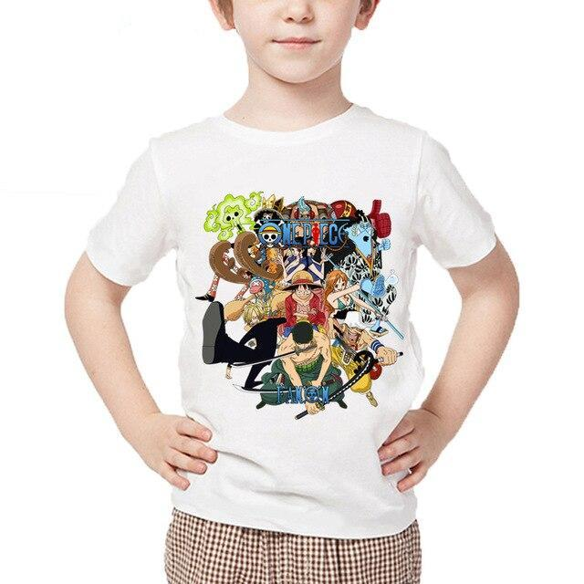 T-Shirt One Piece Enfant Mugiwara
