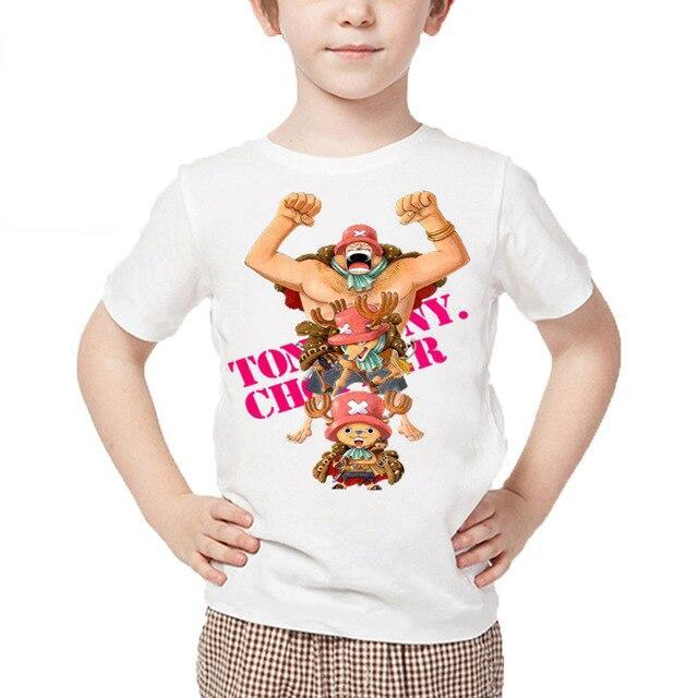 T-Shirt One Piece Enfant Tony Tony Chopper Évolution