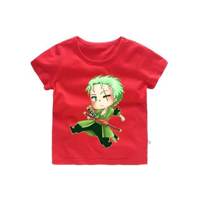 T-Shirt One Piece Enfant Roronoa Zoro