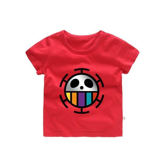 T-Shirt One Piece Enfant Jolly Roger Law