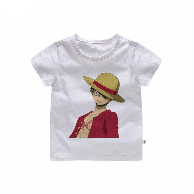 T-Shirt One Piece Enfant Luffy