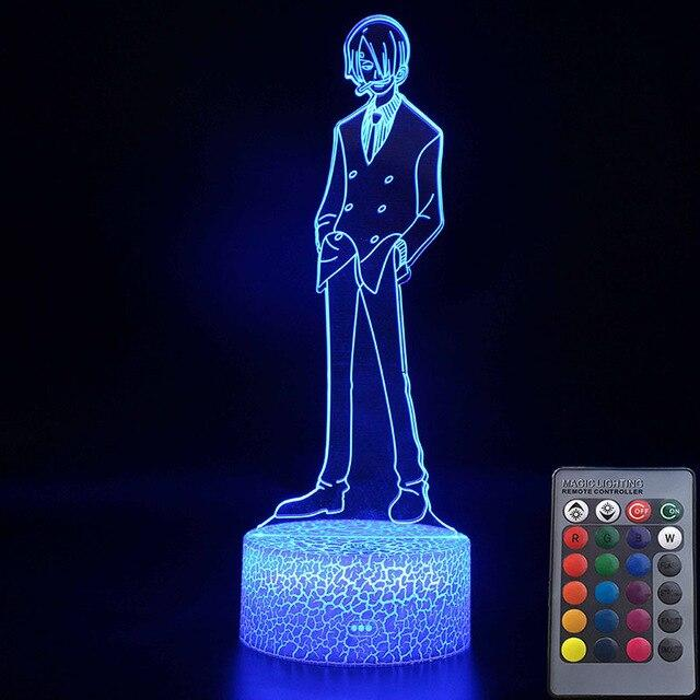 Lampe Acrylique One Piece Sanji