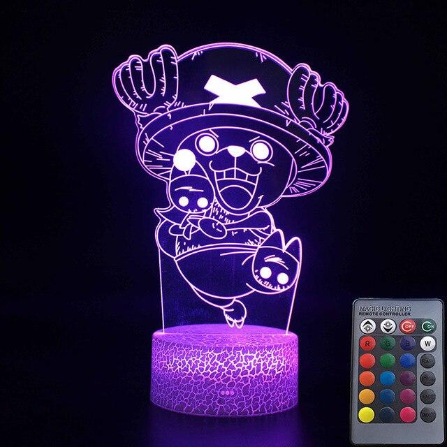 Lampe Acrylique One Piece Tony Tony Chopper