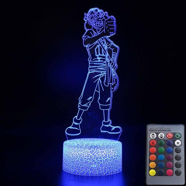 Lampe Acrylique One Piece Usopp