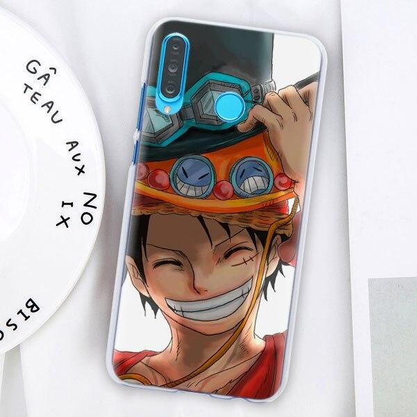 Coque One Piece Huawei Luffy Ace et Sabo