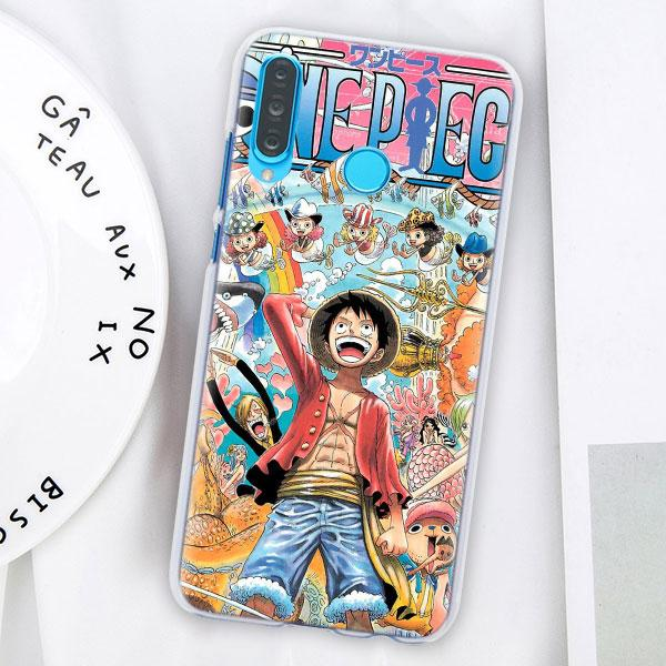 Coque One Piece Huawei Mugiwara