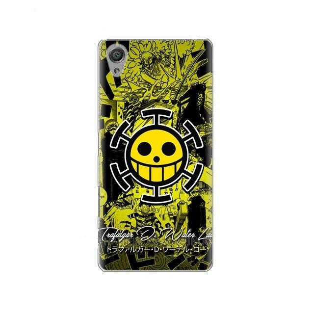 Coque One Piece Sony Jolly Roger Law