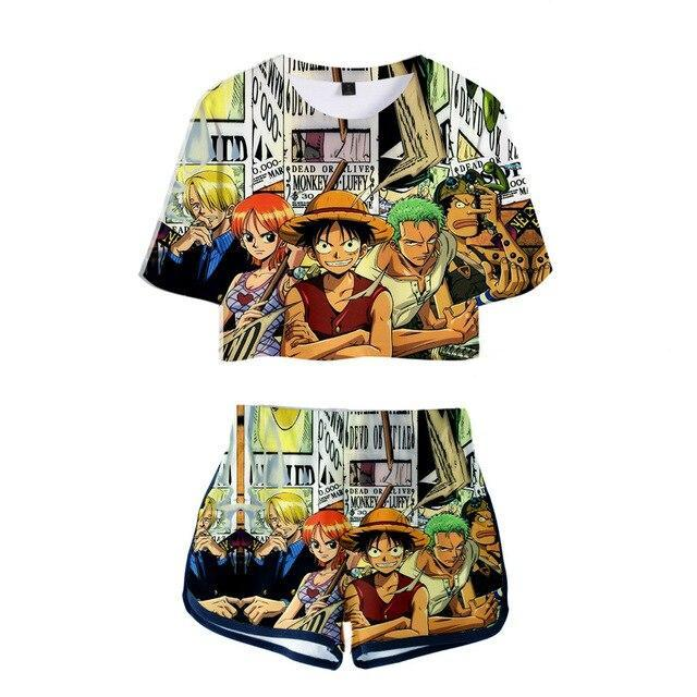 Shortys One Piece Équipage Mugiwara