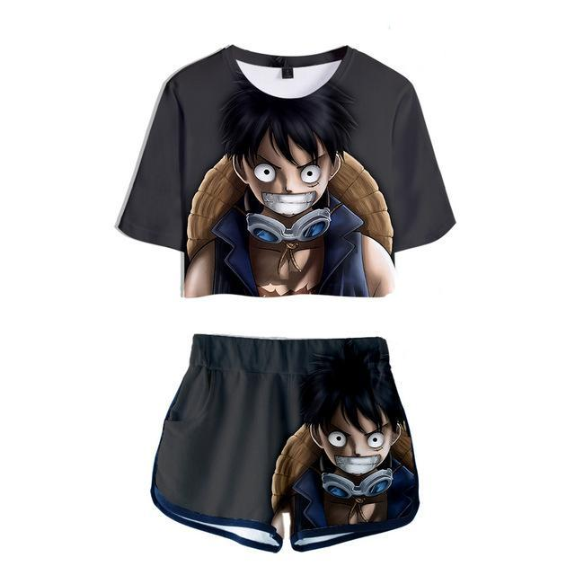 Shortys One Piece Luffy