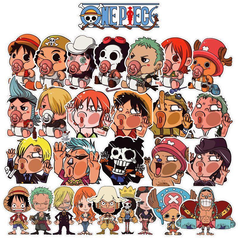 Sticker One Piece Mugiwara