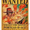 Poster One Piece Portgas D. Ace Wanted