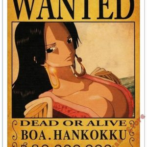 Poster One Piece Boa Hancock Wanted