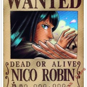 Poster One Piece Nico Robin Wanted